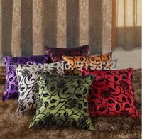 Wholesale Decorative Flower Soft Bed Home Throw Pillow Cushion Case Cover Multicolour EZUK