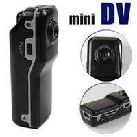 Wholesale HD Sports Camera Mini DV DVR Sports Video Camera Spy Cam MD80 DC Helmet Camera Action Camcorder