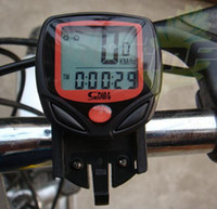 Wholesale New Arrival Waterproof LCD Bike Computer bike Speedometer bicycle speedometer Bike Computer Waterproof bike stopwatch LJJD2595