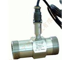 Wholesale PLC water flow meter diesel flowmeter liquid turbine flow meter sensor transmitter lwgy threaded connection