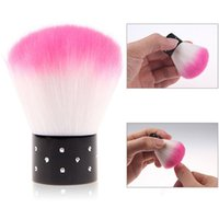 acrylic paint cleaner - x Colorful Nail Tools Brush For Acrylic amp UV Gel Nail Art Brush Painting Dust Cleaner Brushes