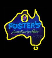 australia beer - Fosters Australia Neon Beer Sign Store Display Avize Neon Nikke Air Jorrdan Neon Sign Real Glass Tube Custom Design LOGO