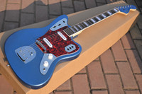 Wholesale Custom Shop Blue Sparkle Jazz master guitar Matching Headstock high quality complete st electric guitar