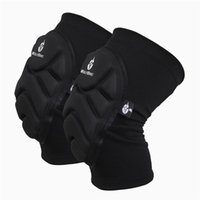 Wholesale Two Pieces Kneepad Skiing Goalkeeper Soccer Football Volleyball Extreme Sports knee pads Protect Cycling Knee Protector