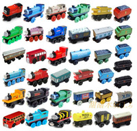 Wholesale Thomas TRAIN CAR OF wooden Complete set of car toy train toys set