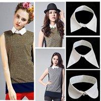 bamboo choker necklace - Women s Vintage Detachable Collar Blouse Shirt Tops Necklace Choker Unisex Tie