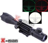 air rifle - 2015 New Night Vision Scopes Air Rifle Gun Riflescope Outdoor Hunting Telescope Sight High Reflex Sight Gunsight C4 X50EG