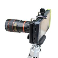 Wholesale Brand new High quality x Zoom Telescope Magnifier Camera Lens for Cell Phones distant shot