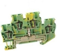 allied electric - UPUN double interconnected grounding terminal block UJ5 JD Shanghai Electric genuine allies