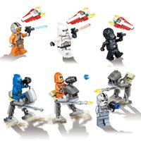 advanced star - 2016 New Star Wars The Force Awakens building blocks TIE Advanced Prototype Darth Vader minifigures kids toys bricks LELE