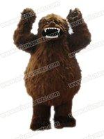adult gorilla suit - AM9182 Gorilla mascot costume Fur mascot suit animal mascot outfit adult fancy dress