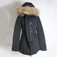 arctic pictures - Big Raccoon fur Real picture Brand New Womens arctic Parka Warm Real Feather Down Coat