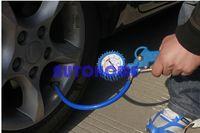 air compressor line - 5 X New psi Van Truck Car Bus Tyre Tire Air Line Inflator Dial Pressure Meter Gauge Compressor order lt no track