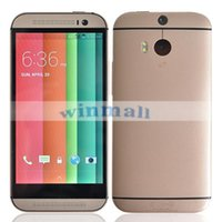 Wholesale By DHL HDC One M8 Inch MTK6572 Dual Core Android Smartphone G WCDMA SIngle Micro SIM GPS Unlocked Cell Phone Gloden silver Black Gray