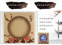 antique coasters - National Chinese Style embroidery Coasters Handmade coasters embroidered coasters unique coasters cup pad
