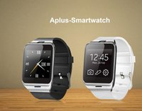 Wholesale Bluetooth Smart Watch waterproof Watch for Iphone Samsung S4 Note Note HTC LG Huawei Xiaomi Android Phone Smartphones White