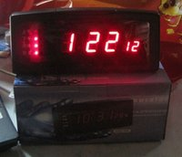 antique news - Newsletter clock large screen LED electronic clock Chinese Talking Clock Music News