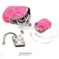 Wholesale Note multifunctional digital coin purse bag belt ring earphones bag camera bag storage bag