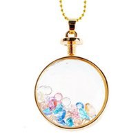 Cheap Novelty Living Memory Floating Charm Best Colourful DIY Glass Locket