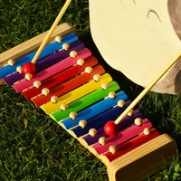 Wholesale Best selling children s toys Wooden toy percussion model tone xylophone infant music teaching aids