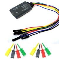 arm debugger - PC USB logic analyzer Channel M MCU ARM FPGA Deber logic analyzer test clip