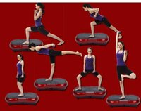 Wholesale 180W standing type Body Fitness vibrating exercise weight loss slimming Machine Vibration plate