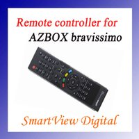Wholesale Remote Control for AZbox Bravissimo satellite receiver RC remote controller bravissimo post D0014