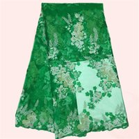 ace patterns - Latest pattern MN29 green party lace French net ace fabric embroidery African tulle lace MN29 yards