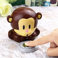 air tools nails - Nail Dryers Polish Blower Dryer Nails Dry Machine Tool Cute Monkey Manicure ready stock