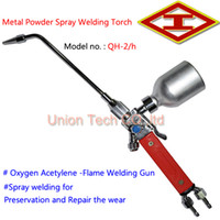 Wholesale 1 set High Quality Flame Welding Painting Tools QH h Metal Powder Spray Welding Torch Oxygen Acetylene Flame Welding Gun