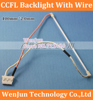backlight lamps - No welding CCFL LCD inch mm x mm ccfl lamp professional lamp ccfl backlight with wire harness cable