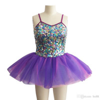 ballet dance costumes - professional ballet tutu kids dance costume Children s Dance spring clothing new clothes and bright sequin skirt ballet costumes