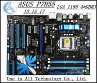 Wholesale original motherboard for ASUS P7H55 Solid State Power pin DDR3 I3 I5 I7 Deluxe Motherboard