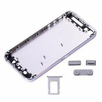 Wholesale 50 For iPhone G Housing Metal Battery Back Cover Replacement With Side Button And SIM Card Tray by DHL EMS