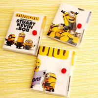 best books sales - DHL New Sale Fashion Despicable Me The Minions notebook best gift for children lovely book girl friend gift mix style