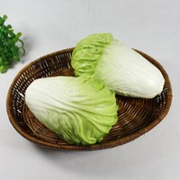 artificial light photography - Artificial Simulation cabbages Real touch PU cabbages Photography Props Christmas home decor kds baby educational toys