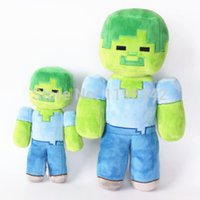 crafts for children - Hot Sales cm Jazwares Mine craft Overworld Steve Zombie Creeper Ghost Plush Toy Doll for children