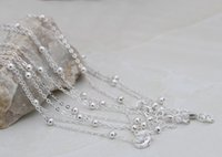good quality jewelry - 10pcs Good Quality Necklaces Stylish Silver Plated Chains Fashion Jewelry Accessories SH14