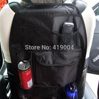 Wholesale Fedex DHL Car Auto Back Seat Hanging Organizer Storage Bag Cup Holder Multi Use Travel case