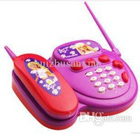 Wholesale Free shiping Child telephone cable toy baby multifunctional baby telephone infant years old HT90100PU