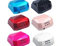 Fashion CCFL 36W LED Licht Diamantförmig Beste Curing-Nagel-Trockner Nail Art Lamp Pflege Maschine für UV Gel Nagellack