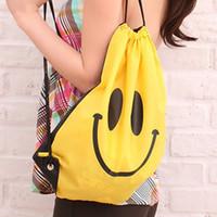 Wholesale HOT Smile Beam port package Swimwear Bag Travel pouch Swim Smile bag For Bath towel Swimwear Goggles