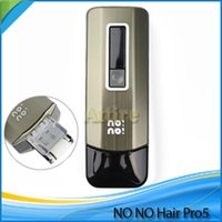 Cheap No!No! Pro5 NoNo Hair Pro 5 Hair Smart men's Women's Hair Epilator Professional Hair Removal Device for Face and Body Family packing