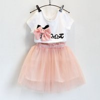 Cheap lace girl dress Best Korean girl sets