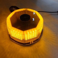beacon lights - 240 LED BEACON LIGHT VEHICLE MAGNETIC EMERGENCY WARNING STROBE LIGHT AMBER