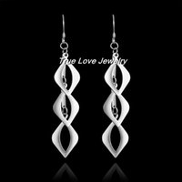 Cheap Silver drop Earrings Best Earring 925 Silver Gold plated jewelry