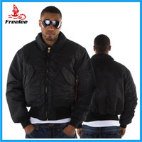 Wholesale Fall Military Jacket Men s Air Force Jacket CWU P Ma1 Men Bomber Jacket