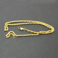 Wholesale 50Pcs Gold Plated Chain Chain Necklaces For Women cm chain buckle DH FLB003