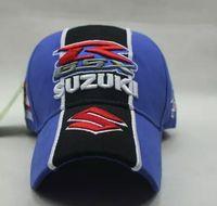 Wholesale suzuki Baseball cap racing cap motorcycle cap with logo