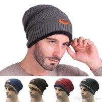 Wholesale New Style Fashion Men Women Unisex Knitted Caps Skull Beanies Autumn Winter Warm Wool Blend Ski For Men Women Beanie Hats AH095